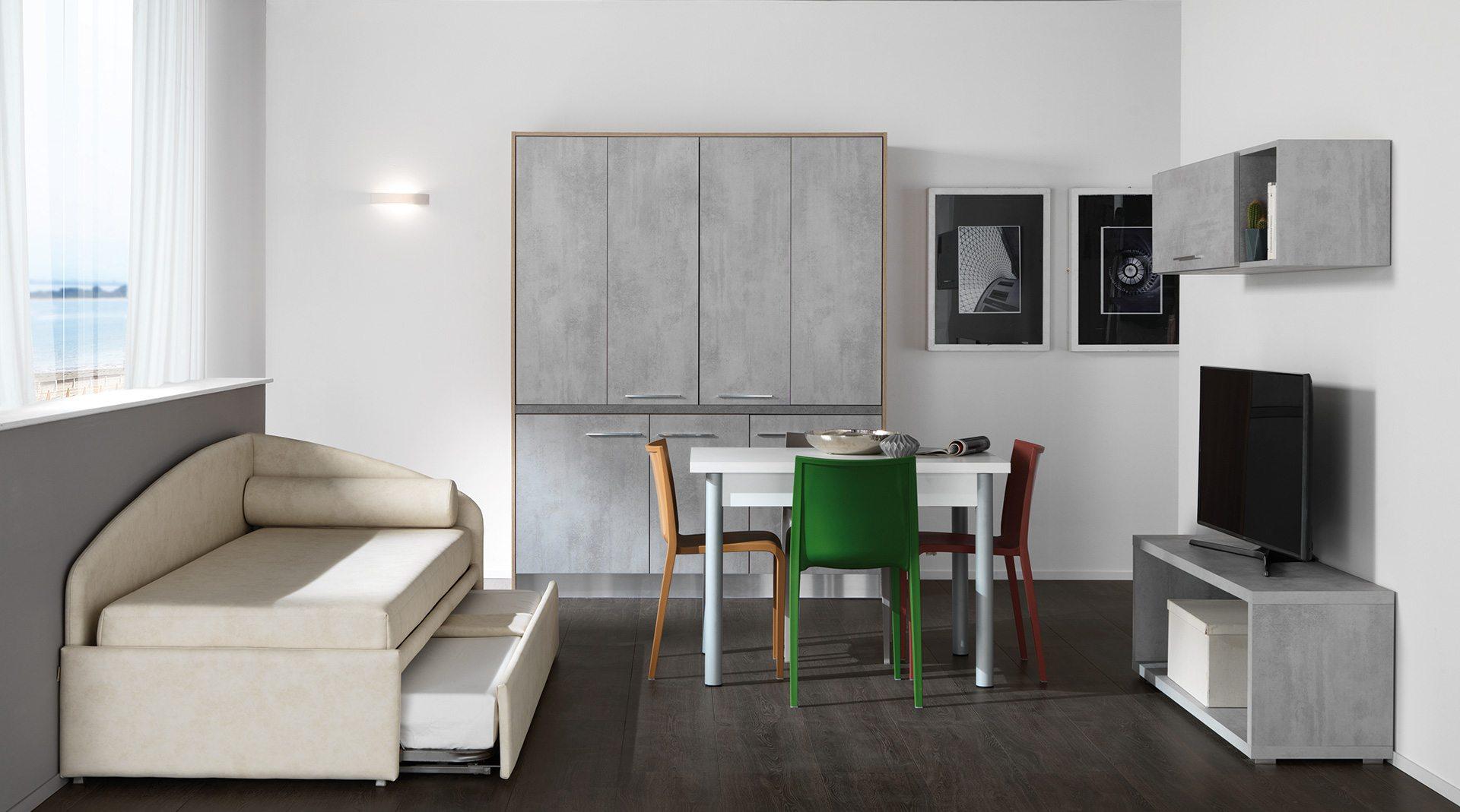 Stunning zona living con cucina ideas ideas design - Cucina con salotto ...